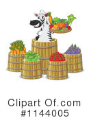Produce Clipart #1144005 by Graphics RF
