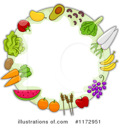 Produce Clipart #1172951 by BNP Design Studio