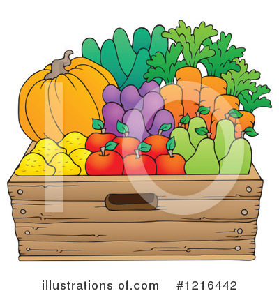 Fruit Clipart #1216442 by visekart