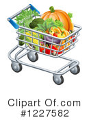 Produce Clipart #1227582 by AtStockIllustration