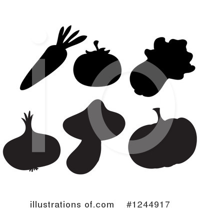 Cabbage Clipart #1244917 by Graphics RF