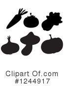 Royalty-Free (RF) Produce Clipart Illustration #1244917
