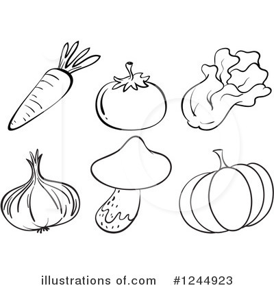 Cabbage Clipart #1244923 by Graphics RF