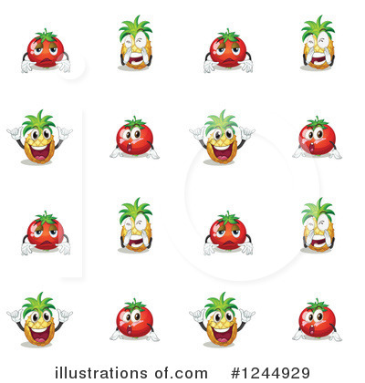 Tomato Clipart #1244929 by Graphics RF