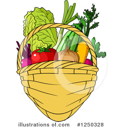 Produce Clipart #1250328 by Vector Tradition SM