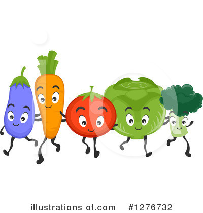 Produce Clipart #1276732 by BNP Design Studio