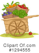 Royalty-Free (RF) Produce Clipart Illustration #1294555