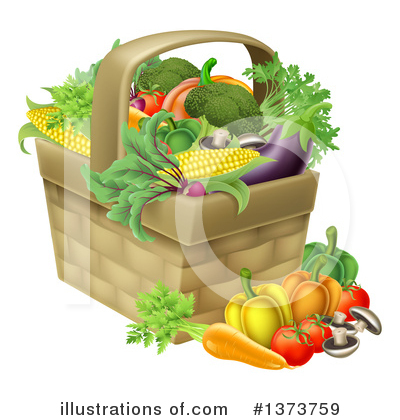 Corn Clipart #1373759 by AtStockIllustration