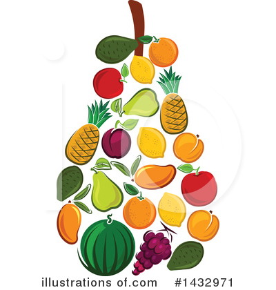 Apple Clipart #1432971 by Vector Tradition SM