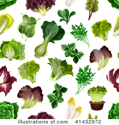 Kale Clipart #1432972 by Vector Tradition SM