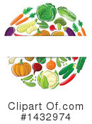 Royalty-Free (RF) Produce Clipart Illustration #1432974