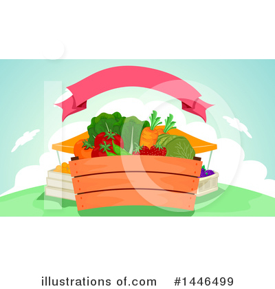 Groceries Clipart #1446499 by BNP Design Studio