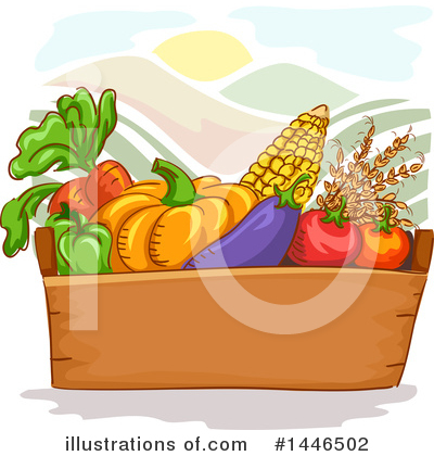 Tomato Clipart #1446502 by BNP Design Studio