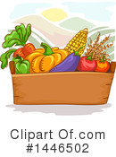 Royalty-Free (RF) Produce Clipart Illustration #1446502