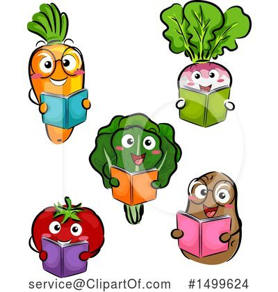 Radish Clipart #1499624 by BNP Design Studio