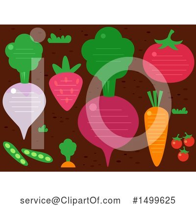 Radish Clipart #1499625 by BNP Design Studio