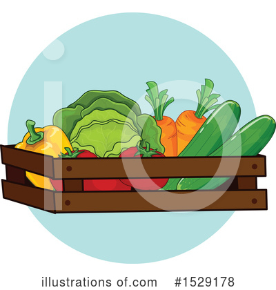 Royalty-Free (RF) Produce Clipart Illustration by BNP Design Studio - Stock Sample #1529178