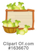 Produce Clipart #1636670 by Graphics RF