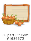 Produce Clipart #1636672 by Graphics RF