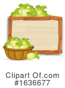 Produce Clipart #1636677 by Graphics RF