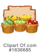 Produce Clipart #1636685 by Graphics RF