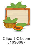 Produce Clipart #1636687 by Graphics RF