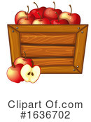 Produce Clipart #1636702 by Graphics RF