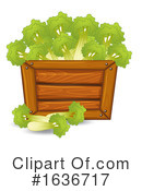 Produce Clipart #1636717 by Graphics RF