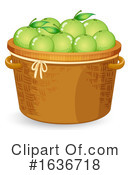 Produce Clipart #1636718 by Graphics RF