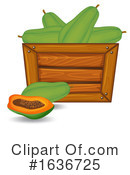 Produce Clipart #1636725 by Graphics RF