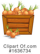 Produce Clipart #1636734 by Graphics RF