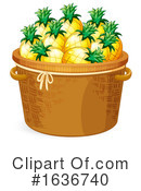 Produce Clipart #1636740 by Graphics RF