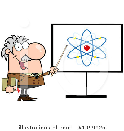 Professor Clipart #1099925 by Hit Toon