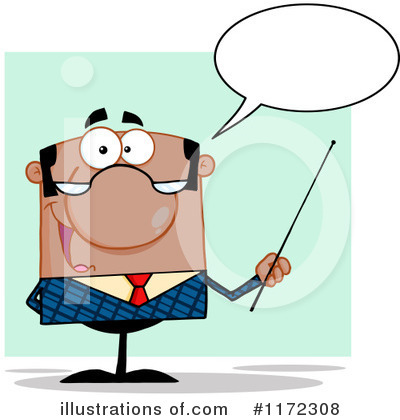 Royalty-Free (RF) Professor Clipart Illustration by Hit Toon - Stock Sample #1172308