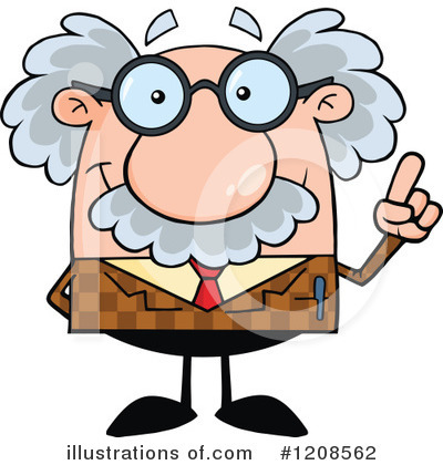 Professor Clipart #1208562 by Hit Toon