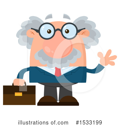 Professor Clipart #1533199 by Hit Toon