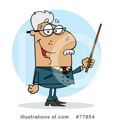 Professor Clipart #77854 by Hit Toon
