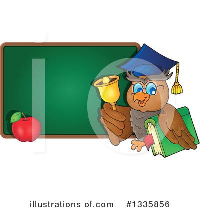 Professor Owl Clipart #1335856 - Illustration by visekart