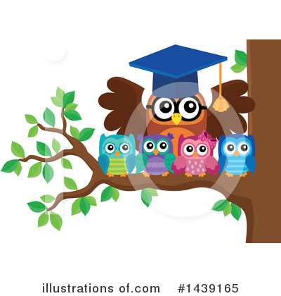 Professor Owl Clipart #1439165 by visekart