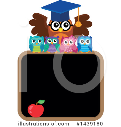 Professor Owl Clipart #1439180 by visekart