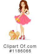 Royalty-Free (RF) Prom Clipart Illustration #1186066