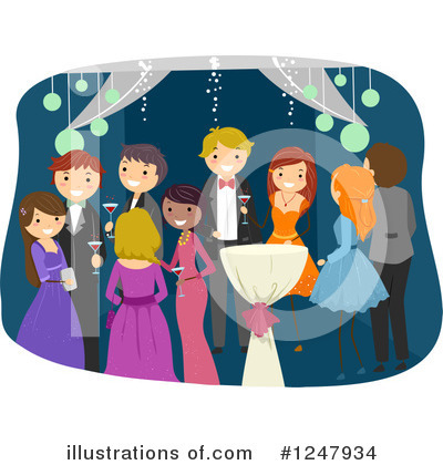 Prom Clipart #1247934 by BNP Design Studio