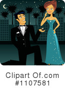 Royalty-Free (RF) Proposal Clipart Illustration #1107581