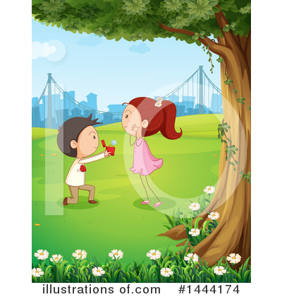 Park Clipart #1444174 by Graphics RF