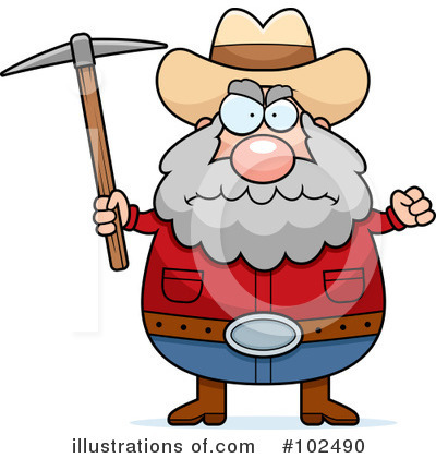 Prospector Clipart #102490 by Cory Thoman