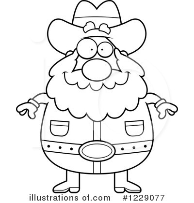Prospector Clipart #1229077 by Cory Thoman
