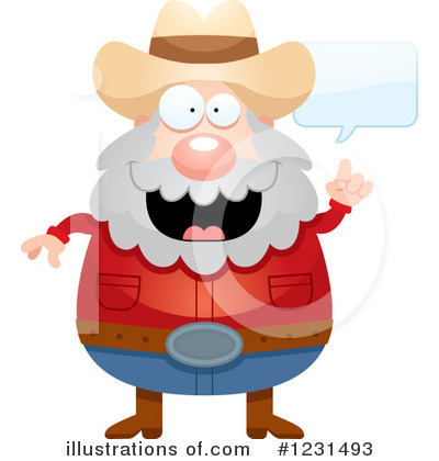Prospector Clipart #1231493 by Cory Thoman