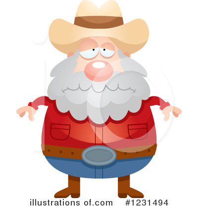 Prospector Clipart #1231494 by Cory Thoman