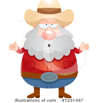 Prospector Clipart #1231497 by Cory Thoman