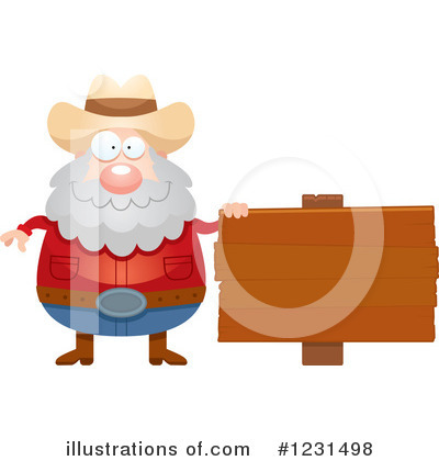 Prospector Clipart #1231498 by Cory Thoman